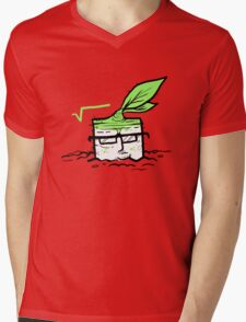 Square Root Mens V-Neck T-Shirt