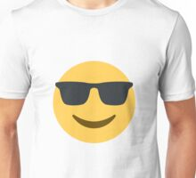 smiling face with sunglasses Unisex T-Shirt