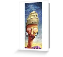 Close to earth Greeting Card