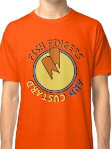Fish Fingers And Custard Classic T-Shirt
