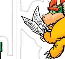 King Poopa Sticker