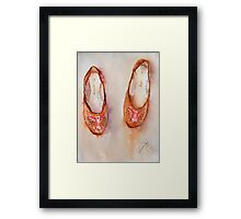 These Shoes Were Made For Walkin Framed Print