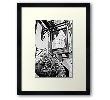 The Crutched Friar pub London Framed Print