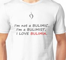Perks of being a wallflower Bulimia Unisex T-Shirt