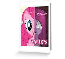 Two Sides - Pinkie Pie Greeting Card