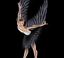 Black Swan Ballerina by tibrado