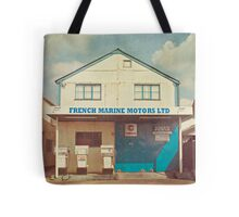 Old Gas Station Tote Bag