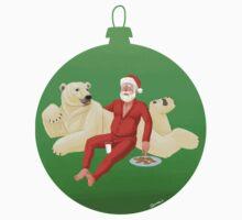 Beary Christmas One Piece - Short Sleeve