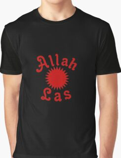 Allah Las Sun Drawing Graphic T-Shirt
