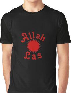 Allah Las Sun Drawing Graphic T-Shirt