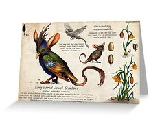 The Jewel Starling Greeting Card