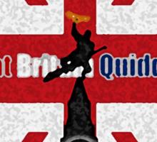 Great Britain Quidditch Sticker