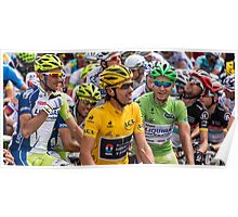 Fabian Cancellarra in Yellow at le tour Poster