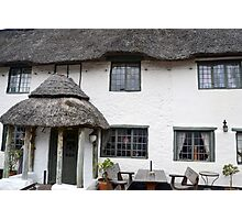 The Wheelright - Colyton, Devon Photographic Print