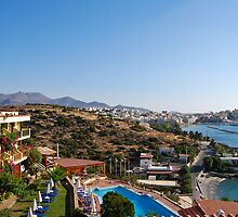 Agios Nikolaos from Mira Mare by Megas
