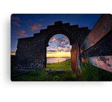 View From The Lair Canvas Print