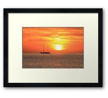 Sunrise on the Sea of Cortez Framed Print
