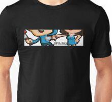 Curtis and Tara Show Stop Stabbing Close Up Unisex T-Shirt