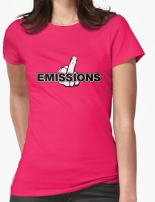 Fuck Emissions, VW Humor Womens Fitted T-Shirt
