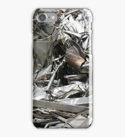 scrap metal iPhone Case/Skin