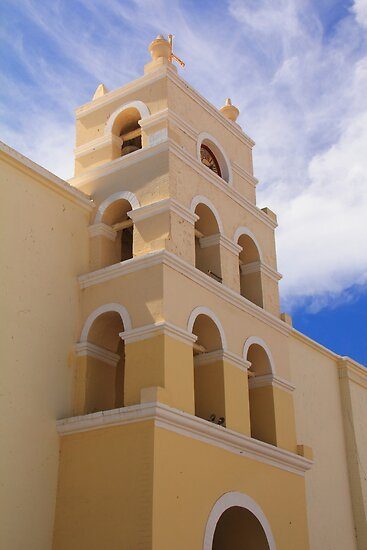 Spanish Mission by Roupen  Baker