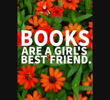 Books, A Girl's Best Friend Unisex T-Shirt