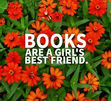 Books, A Girl's Best Friend by vwrites