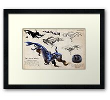 The Astor Whale Framed Print
