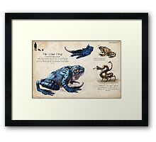 The Claw Frog Framed Print