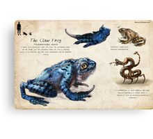 The Claw Frog Canvas Print