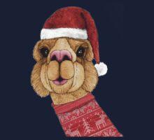 Alpaca Christmas Kids Clothes