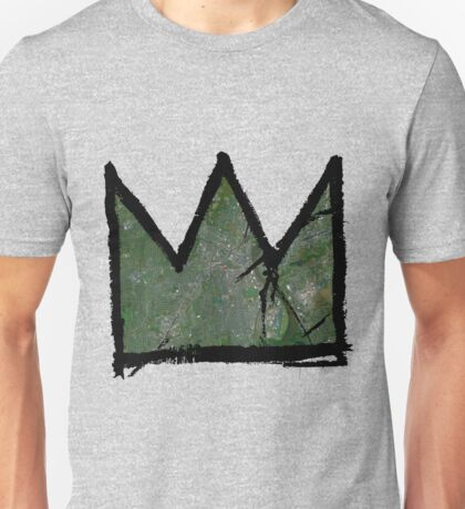 "Basquiat ""King of Hartford Connecticut"" Unisex T-Shirt"