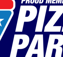 PIZZA PARTY (sticker) Sticker