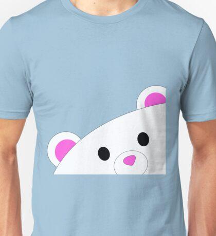 Shy teddy bear Unisex T-Shirt