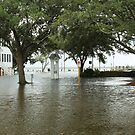 Edenton Bay Over It's Banks by WeeZie