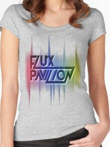 Flux Pavilion & Sound wave Women's Fitted Scoop T-Shirt