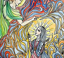 Annunciation 2 by Gian