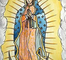 Our Lady of Guadalupe by Gian