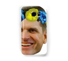 Harbaugh Flower Crown Samsung Galaxy Case/Skin