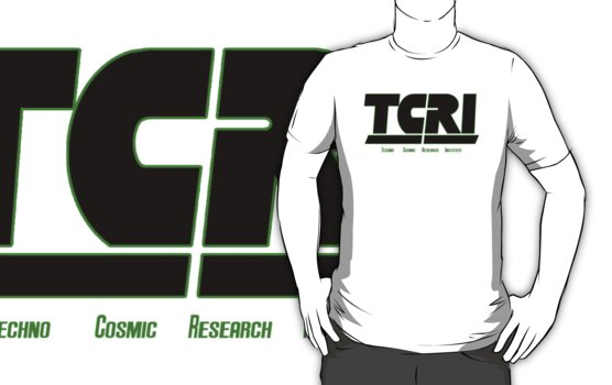 T.C.R.I Techno Cosmic Research Institute (black) by gerrorism