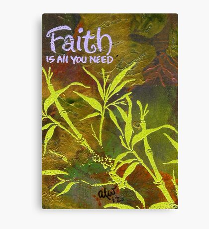 Having Faith Canvas Print