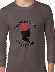 Doctor Who Fez Long Sleeve T-Shirt