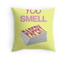 Suits - You Smell Papery Throw Pillow