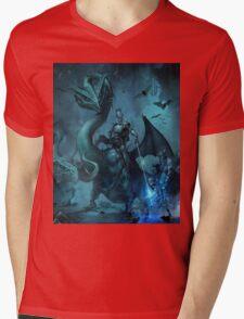 Dark knight Mens V-Neck T-Shirt
