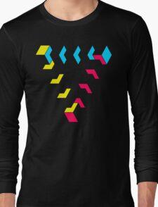KUBEZ-REMIX-CMYK Long Sleeve T-Shirt