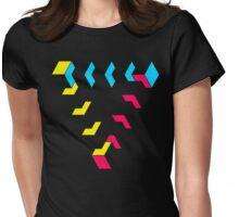 KUBEZ-REMIX-CMYK Womens Fitted T-Shirt