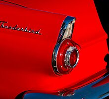 1956 Ford Thunderbird Convertible Taillight by Jill Reger