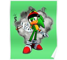 Chronic The Hedgehog Poster