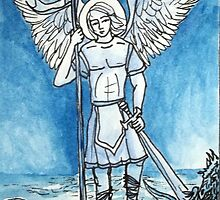 St. Michael The Archangel Guardian Protector by Gian