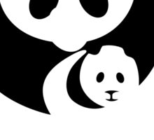 Panda Sign, China - Regular Version Sticker